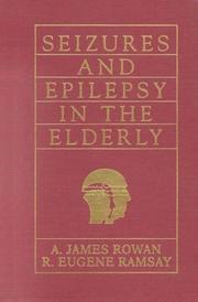 Cover of: Seizures and epilepsy in the elderly |