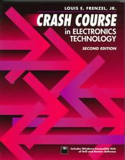 Cover of: Crash course in electronics technology