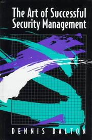 art of successful security management