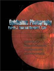 Cover of: Ophthalmic photography | Patrick J. Saine