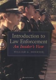 Cover of: Introduction to law enforcement | William G. Doerner