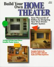 Cover of: Build your own home theater