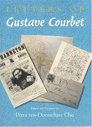 Cover of: Letters of Gustave Courbet