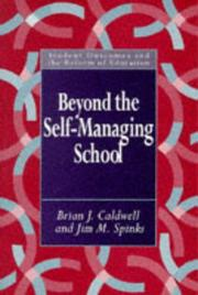 Cover of: Beyond the self-managing school