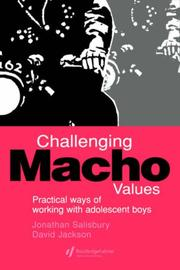 Cover of: Challenging macho values