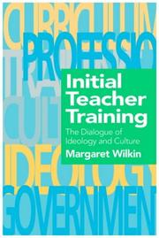 Cover of: Initial teacher training
