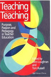 Cover of: Teaching about teaching |