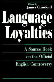 Cover of: Language loyalties