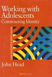 Cover of: Working with adolescents