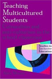 Cover of: Teaching Multicultured Students | Alex Moore