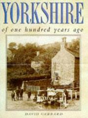 Cover of: Yorkshire one hundred years ago