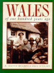 Cover of: Wales of one hundred years ago