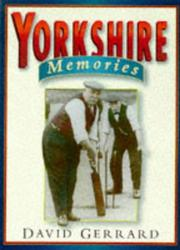 Cover of: Yorkshire memories
