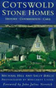 Cover of: Cotswold Stone homes