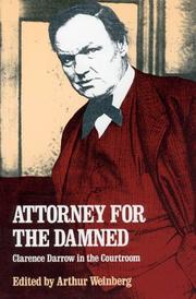 Cover of: Attorney for the damned