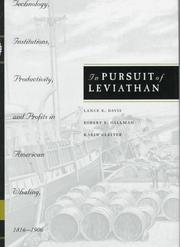 Cover of: In pursuit of Leviathan