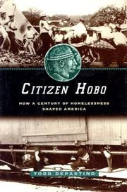 Cover of: Citizen Hobo | Todd DePastino