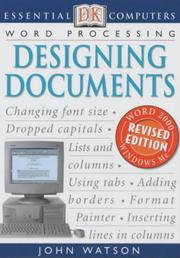 Cover of: Designing Documents | John Watson