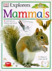 Cover of: Mammals (Eyewitness Explorers)