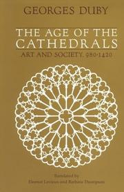 Cover of: The age of the cathedrals