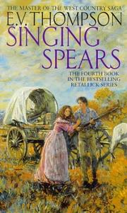 Cover of: Singing Spears