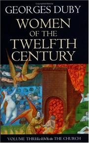 Cover of: Women of the Twelfth Century, Volume 3