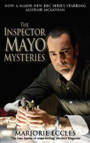 Cover of: Inspector Mayo Mysteries | Marjorie Eccles