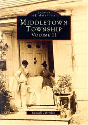 Cover of: Middletown Township, NJ Volume II