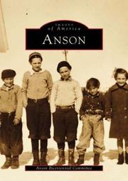 Cover of: Anson | Anson  Bicentennial  Committee