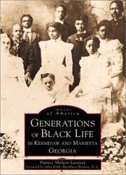 Cover of: Generations of black life in Kennesaw and Marietta