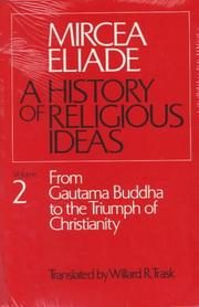 Cover of: History of Religious Ideas, Volume 2