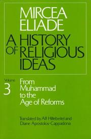 Cover of: A History of Religious Ideas Volume 3
