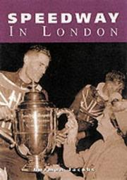 Cover of: Speedway in London