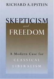 Cover of: Skepticism and Freedom
