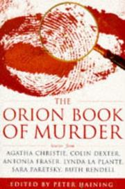 Cover of: The Orion Book of Murder: 100 of the World's Greatest Crime Stories
