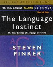 "Cover of: The Language Instinct (""Daily Telegraph"" Talking Science)"