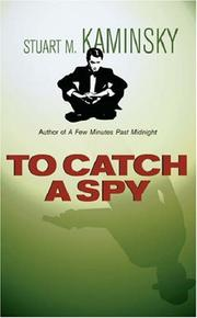 Cover of: To Catch a Spy: a Toby Peters mystery