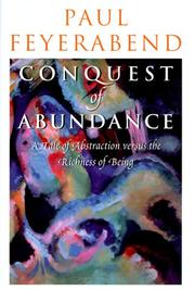 Cover of: Conquest of abundance