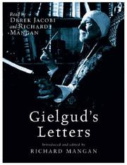 Cover of: Gielgud's Letters