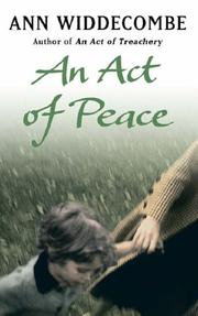 Cover of: An Act of Peace | Ann Widdecombe