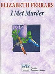 Cover of: I Met Murder