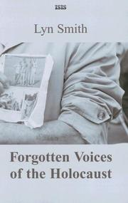 Cover of: Forgotten Voices of the Holocaust