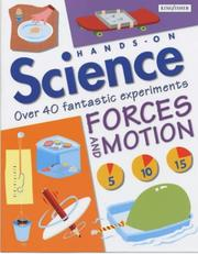 Cover of: Forces and Motion (Hands-On Science)
