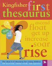 Cover of: Kingfisher first thesaurus. |