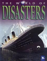 Cover of: World of disasters | Ned Halley
