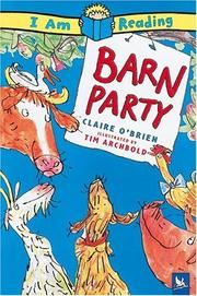 Cover of: Barn Party (I Am Reading)