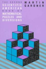 Cover of: The 2nd Scientific American book of mathematical puzzles & diversions: a new selection.