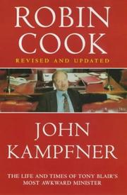 Cover of: Robin Cook | John Kampfner