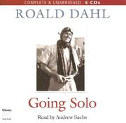 Cover of: Going Solo