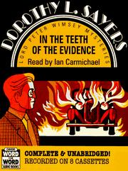 Cover of: In the teeth of the evidence